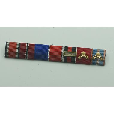 SS Generalmajor Kurt Meyer's Ribbon Bar