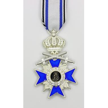 Bavarian Merit Cross 4th Class with Crown and Swords