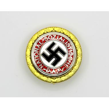 Nazi Party Badge in Gold-Large Version