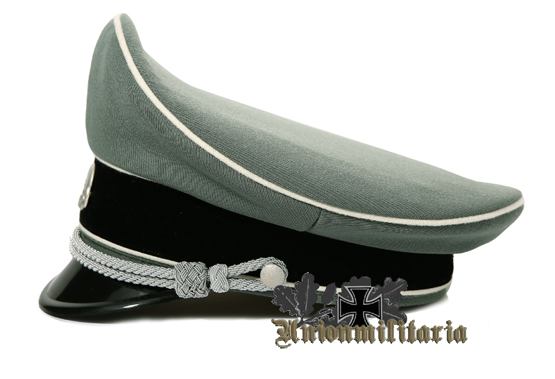6d83a3b551b Waffen SS Officer Visor Cap Visor Caps WW2 German Caps WW2 German ...