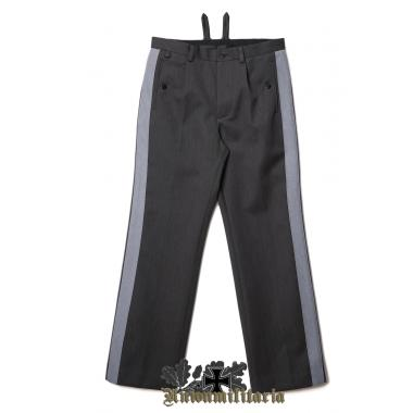 SS General Stone Gray Trousers with Gray Stripe