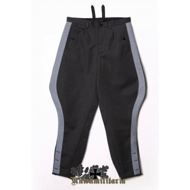 SS General Stone Gray Breeches with Gray Stripe