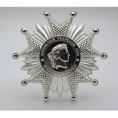 French Legion of Honor Breast Star in Silver