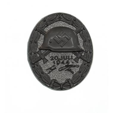 20 July 1944 Wound Badge in Black