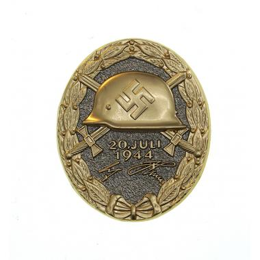 20 July 1944 Wound Badge in Glod