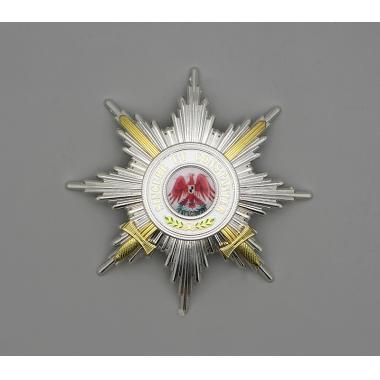 The Order of the Red Eagle 1st Class with Swords Breast Star