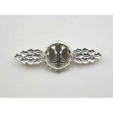 Long Range Day Fighter  Squadron Clasp in Silver