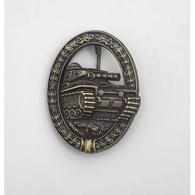 1957 Panzer Assault Badge in Bronze